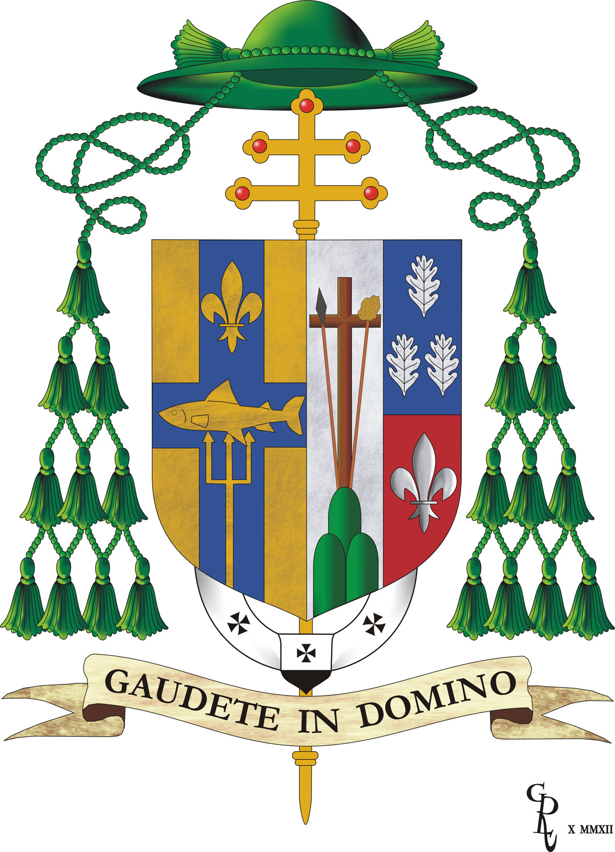 Coat Of Arms Of Archbishop Joseph W Tobin