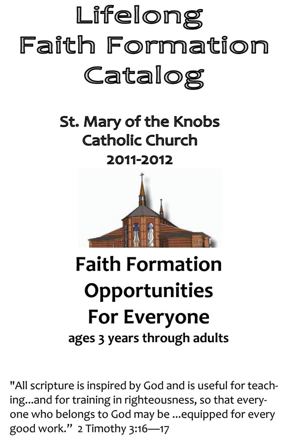 of adult formation Position director faith