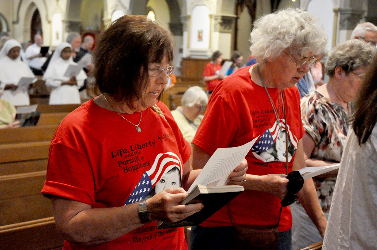 Catholics rally for religious liberty during Fortnight for Freedom