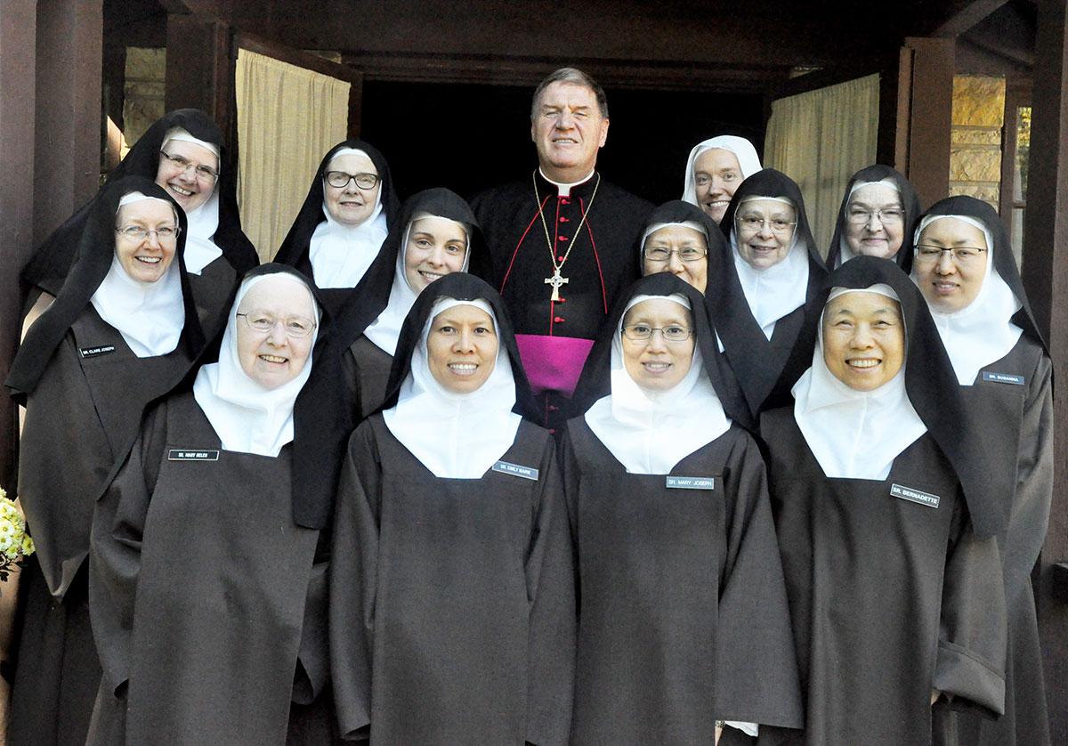 Terre Haute Carmelite monastery gives witness to faith, prayer
