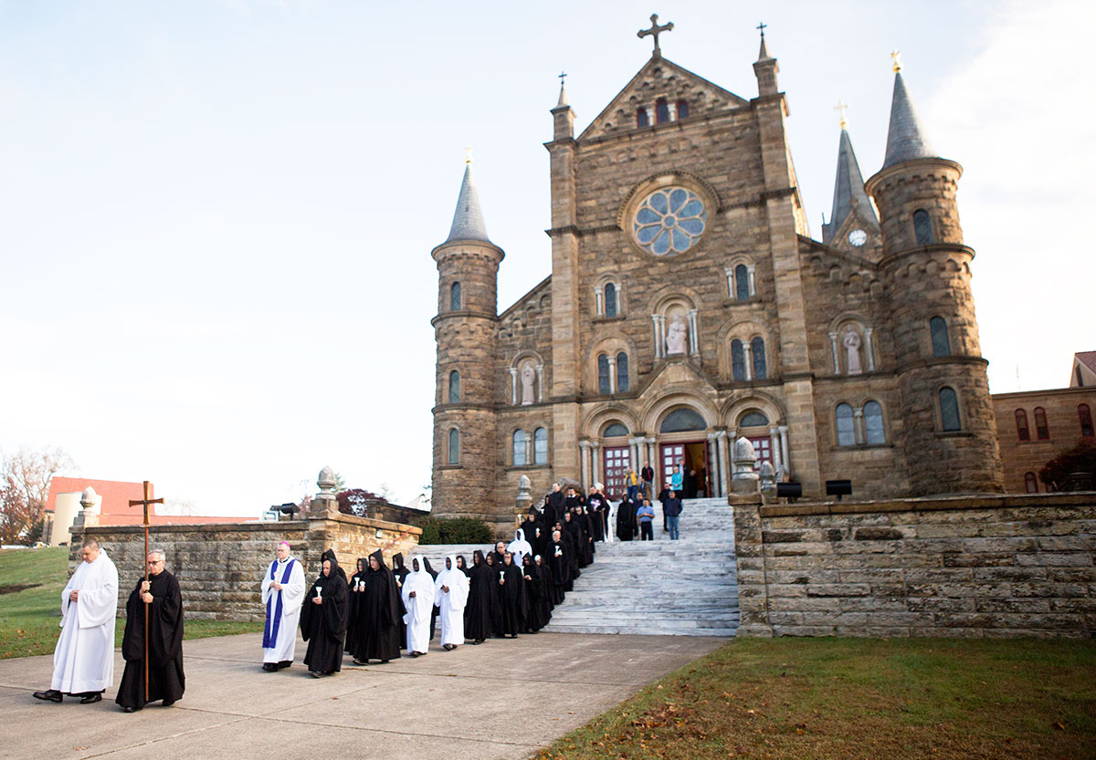 St Meinrad Indiana Map.Saint Meinrad Archabbey Remains Rooted In Prayer Service To Church