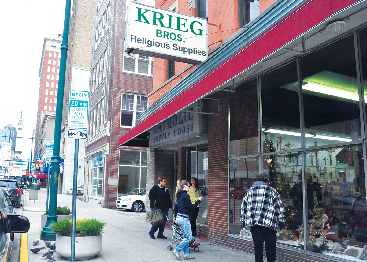 Bon Krieg Brothers Religious Supply Store, Which Opened In 1892, Operated Out  Of This Building