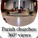 360-degree views of select parish churches