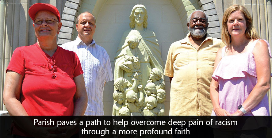Parish paves a path to help overcome deep pain of racism through a more profound faith
