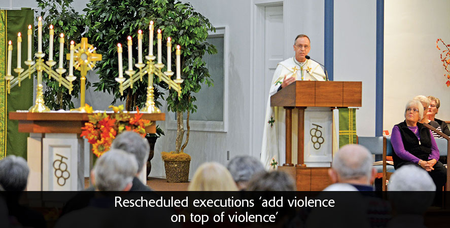 Rescheduled executions 'add violence on top of violence'