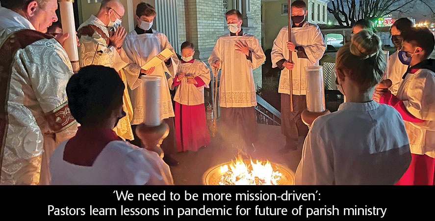 'We need to be more mission-driven': Pastors learn lessons in pandemic for future of parish ministry