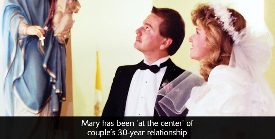 Mary has been 'at the center' of couple's 30-year relationship